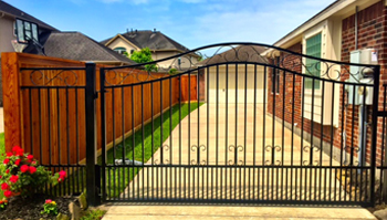Image that shows Custom Gates and Access Control