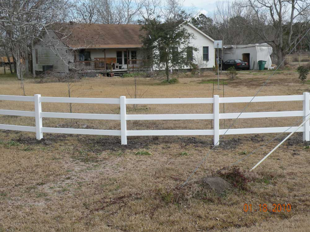 Vinyl Fences Lone Star Fence Amp Construction