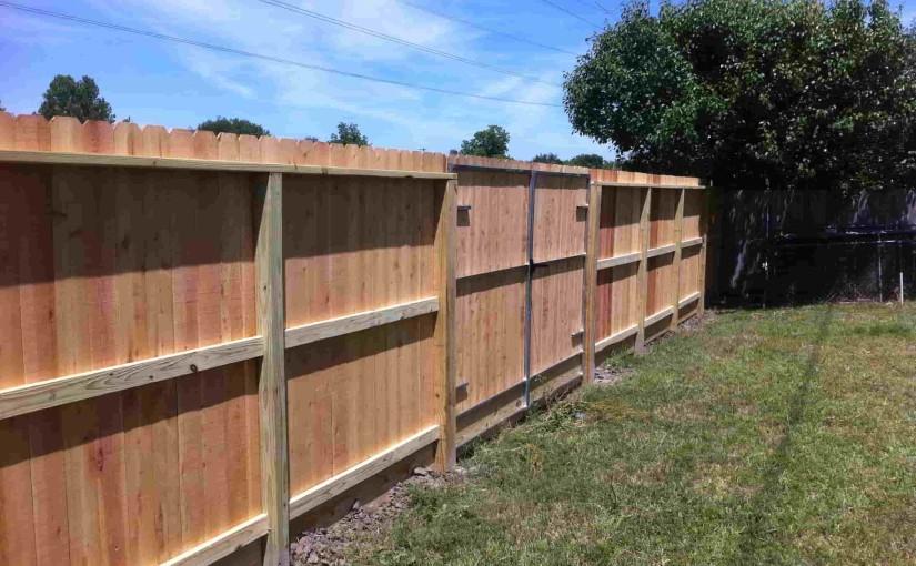 Wooden Fences95