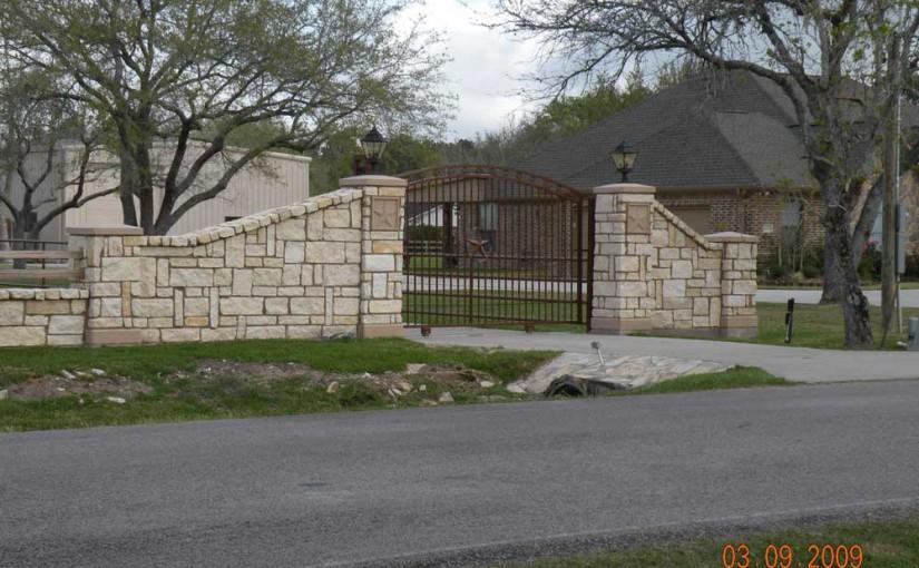 Masonry Fences7