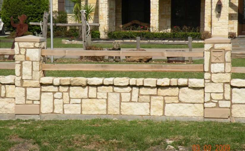 Masonry Fences10