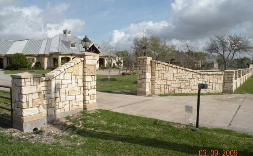 Masonry Fences11