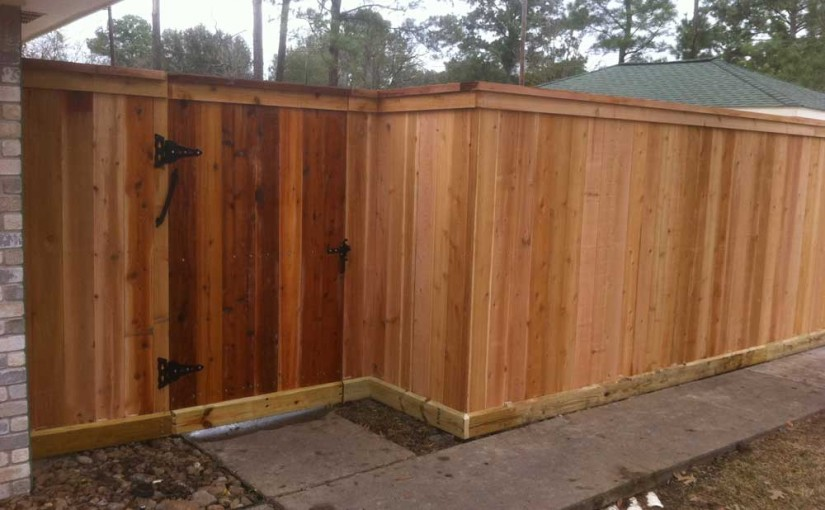 Wooden Fences43