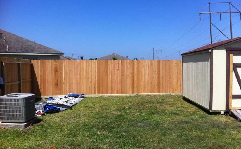 Wooden Fences58