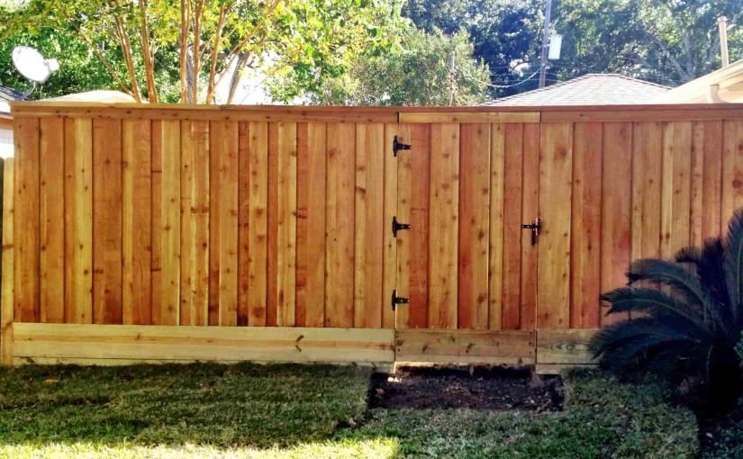 Wooden Fences92